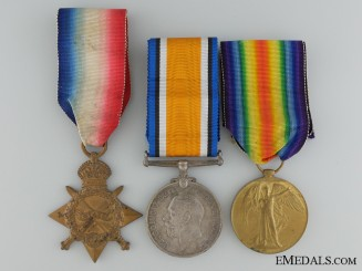 Canada. A First War Medal Group to the Field Artillery