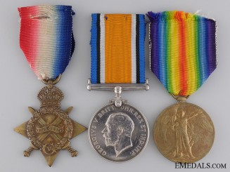 A First War Medal Group to the 26th Canadian Infantry