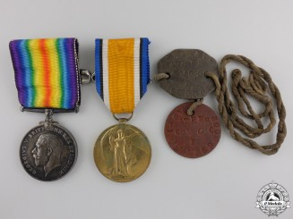 Canada. A Medal Group to the 54th Canadian Infantry