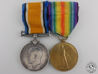 A First War Medal to the Royal Highlanders of Canada