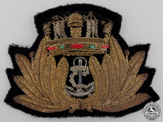 A First War Merchant Marine Cap Badge