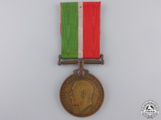 A First War Mercantile Marine War Medal