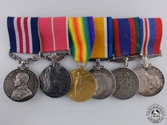 A First War Military Medal & BEM to the Alberta Regiment