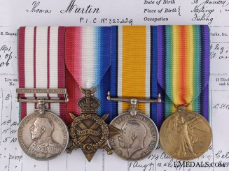 A First War Naval General Service Medal Group