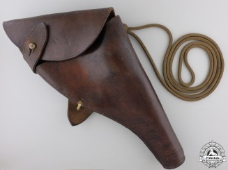 A First War Officer's Holster to Lieut. Paul Greey CEF