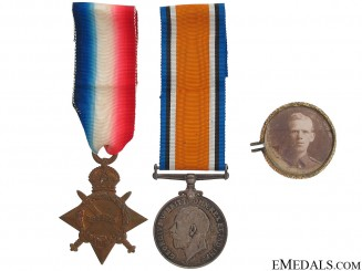 A First War Pair to the Cheshire Regiment KIA