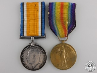A First War Pair to the 1st Canadian Mounted Rifles