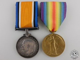 A First War Pair to the Royal Artillery