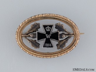 A First War Patriotic Iron Cross
