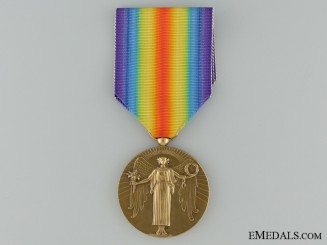 A First War Portuguese Victory Medal