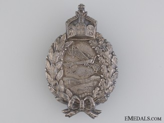 A First War Prussian Pilot's Badge by Juncker