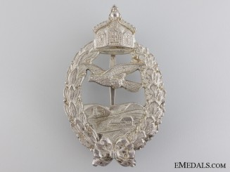 A First War Prussian Pilot's Commemorative Badge by Meybauer