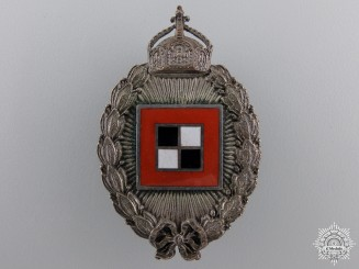 A First War Prussian Observer's Badge; Engraved Prinzen Size