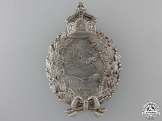 A First War Prussian Pilot's Badge; c.1917-18