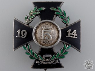 A First War Reuss War Merit Cross 1914