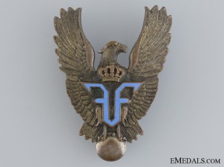 A First War Romanian Pilot's Badge