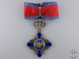 A First War Romanian Order of the Star;  Commander's Cross