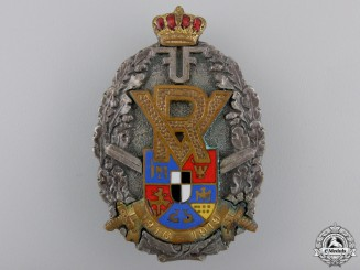 Romania, Kingdom. An Officer's Volunteer Badge, c.1915