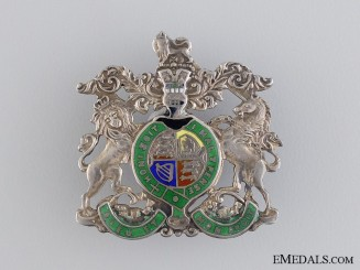 A First War Royal Coat-of-Arms Badge