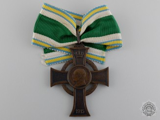 A First War Saxon War Merit Cross