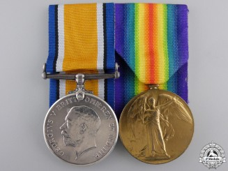 A First War South African Officer's Medal Pair