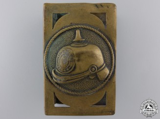 A First War Trench Art Match Box Cover