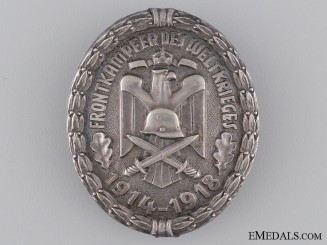 A First War Veterans Association Front Fighter Badge