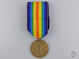 A First War Victory Medal to 2nd Lieut. Jackson