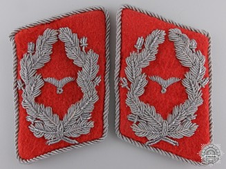 A Flak Artillery Major's Collar Tabs