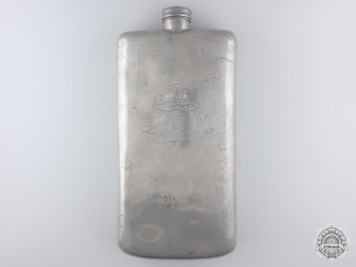 Canada, CEF. A Flask to the 7th Canadian (McGill) Siege Battery