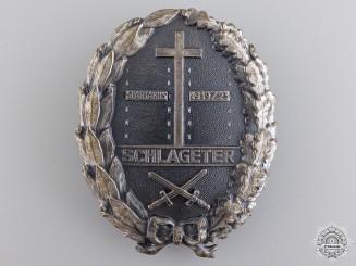 A Freikorps Schlageter Badge; Type II