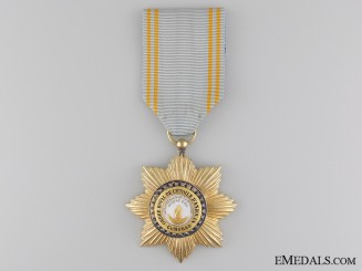A French Colonial Order of Star of Anjouan; Comoro Islands