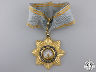A French Colonial Order of the Star of Anjouan; Comoro Islands