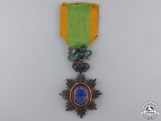 Annam, French Protectorate. An Imperial Order of the Dragon, Knight