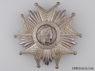 A French Legion D'Honneur; Grand Cross Breast Star