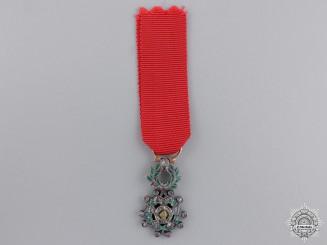 France, Republic. A Miniature Legion D'Honneur in Gold & Diamonds