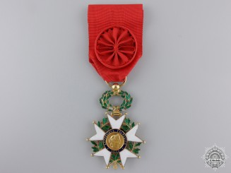 A French Legion D'Honneur in Gold; Officer's Badge