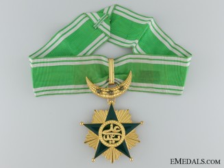 French Colonial. An Order of Said Ali of the Comoro Islands