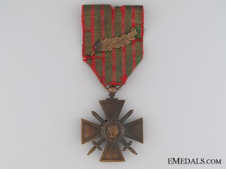 A French War Cross 1914-1918