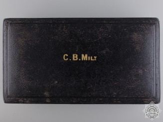 A Garrard & Co Case for Order of the Bath; Commander