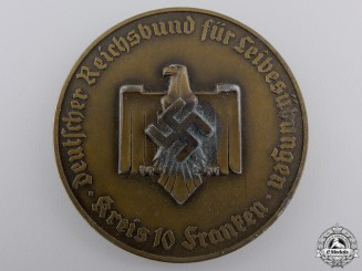 A GAU Franken Winner's Medal for Physical Education