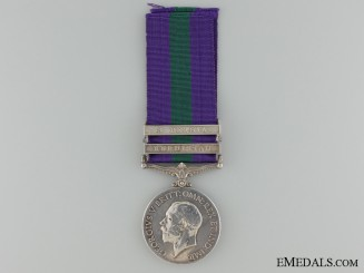 A General Service Medal to the 16th Punjab Regiment