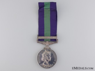 A General Service Medal 1918-1962 to the Royal Army Ordnance Corps