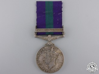 A General Service Medal 1918-1962 to the Royal Ulster Rifles