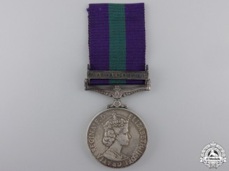 A General Service Medal 1918-1962 to the Aden Protectorate Levies