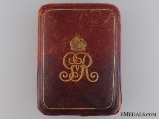 A George V Albert Medal Case