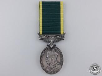 A George V Effeciency Medal to the Kent Regiment