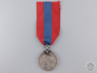 A George V Imperial Service Medal to E.G.Taylor