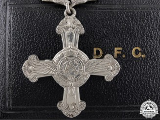 A George VI Distinguished Flying Cross; 1944 Dated