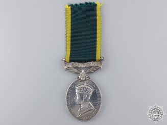 A George VI Efficiency Medal to the Royal Engineers